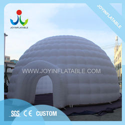 Diameter 10M Oxford Inflatable Dome Tent Sale with LED Light for Party Event