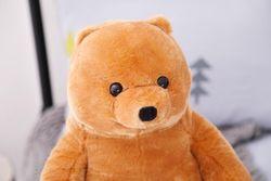 2019 New 60cm Standing Big Brown Bear Plush Toy Teddy Bear Baby Toy to Send Children Birthday Gift Halloween Gift