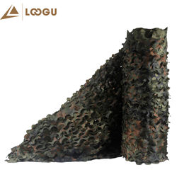 LOOGU E 10M*1.5M Shader Sun Car Tent Camouflage Nets Woodland Didital Without Edge Binding Mesh Jungle Party Decorations