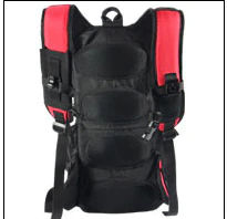 PK outdoor riding backpack bag and bike riding warning lamp/Hiking camping mountain outdoor travel use backpack bag