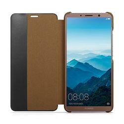 XOOMZ Luxury Genuine Leather Smart Sleep Flip Case View Display Window Back Cover For Huawei Mate 10/Mate10 pro Phone Case Funda