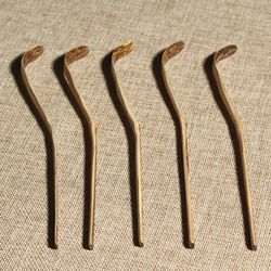 Wholesale Bulk Organic Purple Bamboo Matcha Scoop Measuring Spoon Tea ceremony whisk Tools Green Tea collections