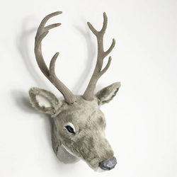 free shipping artificial deer head mould