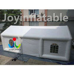 Cube outdoor wedding inflatable party tent with two air pump for hotel event