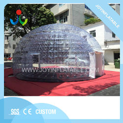 Transparent High Quality Inflatable Event Tent Bubble Inflatable Igloo Tent for Sale