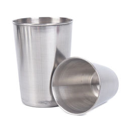 Outdoor Camping Cup Tableware 30ml/70ml/170ml Travel Cups Set Stainless Steel Cover Mug Drinking Coffee Tea Beer With Case