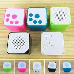 Outdoor Portable Mini MP3 Music Player Speaker Music Flash Drive Speaker Support 16G TF Card MP3 Music Player Speaker