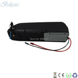 free shipping 24v shark electric bike battery 24v 12ah 13ah 15ah 20ah hailong down tube e-bike battery+3A charger