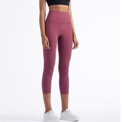 Women Yoga Tights High Waist Gym Fitness Leggings Workout Breathable Cropped Athletic Pants for Running Ladies Flex Sports Pants