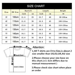 Kids t shirt Clothes boys clothing Anime Children T-shirt for Boys Girls Toddler Shirts Tees baby casual Short Sleeve tops 2020