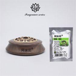 Amini Deodorant Car Perfume Seat Creative Wood Solid Balm Car Natural Essential Oil Deodorant