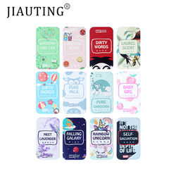 JIAUTING Portable Solid Perfume Fragrances Women Men Solid Balm Mild Long Lasting Aroma Deodorant Fragrance Body Antiperspirant