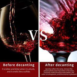 Multiple ligent Electronic Decanter for Wine Fast Decanter for Wine Electric Decanter for Wine
