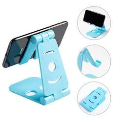 Phone Holder Stand Mobile Smartphone Support Tablet Stand for iPhone Desk Cell Phone Holder Stand Portable Mobile Holder