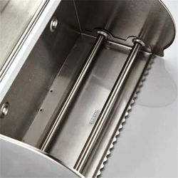 Stainless Steel Thickened Light Box Toilet Toilet Toilet Paper Box Holder Hanging Waterproof Metal Roll Paper Holder