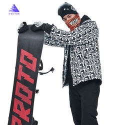 MEN'S Ski Suit Single and Double Board Snow Jacket Raincoat Jacket Warm Ski Jacket