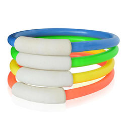 Swimming Pool Diving Circle Plastic Portable Game Ring for Underwater Children Parent-child Gift Children's Summer Throwing Toys