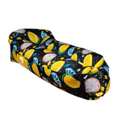 Hot Folding Inflatable Sofa Portable Lazy Inflatable Camping Mat Outdoor Air Cushion 180x70x52cm