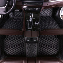 Car Floor Mats for MAZDA 5 2008 2009 2010 2011 2012 2013 Car Accessories Eco Leather for Car Interior