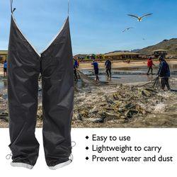 Wild Fishing Anti-dirty Waterproof Pants Legs Mountaineering Riding Trekking Splash-proof Simple Portable Rain Pants 40DC13