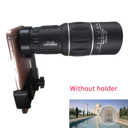 16X52 Telescope Outdoor Hiking Phone Accessory Camping HD Day Night Vision Wide-angle Dual Monocular Phone Clip Waterproof