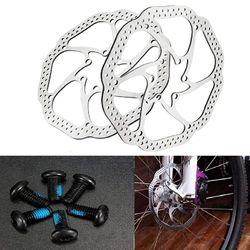 2 Pcs Mountain Bicycle HS1 Brake Disc Road Bike Brake Rotor for Mountain Bike BMX MTB(160mm)