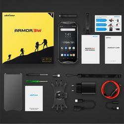 Ulefone Armor 3WT Walkie-Talkie NFC 4G Global vision Smart phone Android 9.0 6GB 64GB 10300mAh Waterproof Rugged Mobile Phone