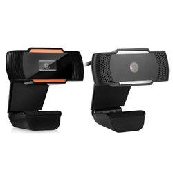 Webcam Camera with Microphone Web Cam for Computer PC Laptop USB Rotating Camera Sharpness Cam