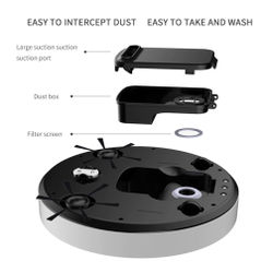 Household Vacuum Cleaner Small Appliances Gift Charging Automatic Mopping And Sweeping Robot English
