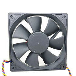For Delta AFB1212H DC 12V 0.8A 0.35A 12025 double ball fan 4-wire PWM speed regulation 120x120x25mm
