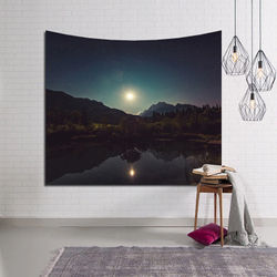 Nordic ins American style popular hanging cloth art wall tapestry tapestry home decoration mural beach towel