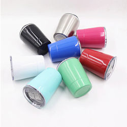 8/12oz cups with lids Stainless Steel Coffee Mug Portable Car Flasks Travel Cup Water Bottler Thermocup For Gifts Champagne Beer