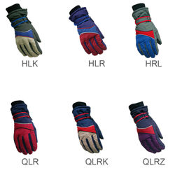 Unisex Windproof Waterproof Warm Cycling Gloves Ski Snow Snowmobile Snowboard Full Finger Skiing Gloves