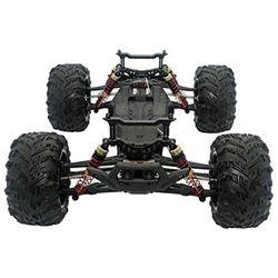 4Pcs RC Shock Absorber Adjustable Assembled Spring Damper Suspension Upgraded Oil Filled Shock 25-ZJ03 for 9125 RC Car