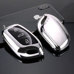TPU key case for car key cover For MG MG6 ZS HS For ROEWE I5 RX5 MAX RX3 2017 2018 2019 2020 car accessories protection new