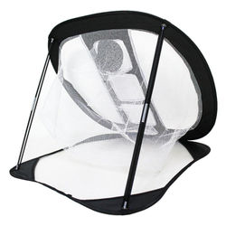 Golf Training Aids Net Golf Chipping Pitching Cages Portable Golf Practice Training Aids Mats Indoor Outdoor Mat New