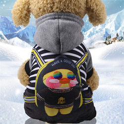 Small Dog Hoodie Warm Pet Dog Clothes For Dogs Coat Jacket Cotton Ropa Perro French Bulldog Sweater For Dogs Pets Clothing