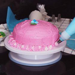 164Pcs Diy Multi-Function Cake Decorating Kit Cake Turntable Set Pastry Tube Fondant Tool Cake Kitchen Dessert Tools