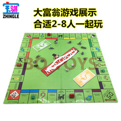 Educational Toys Classic English Monopoly Game Board English Monopoly Russian board game