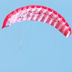 1.4m Dual Line Kitesurfing Stunt Parachute Soft Parafoil Surfing Kite Sport Kite Huge Large Outdoor Activity Beach Flying Kite