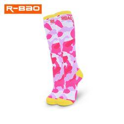 2020 new long tube children's roller skating socks Ski Socks thickened full circle socks 5-10 years old snow socks