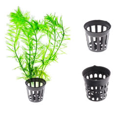Round Pond Plant Basket Aquatic Net Slit Pot For Planting Accessory New