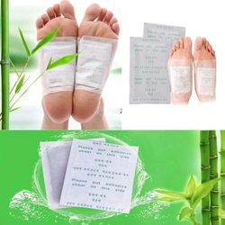 10pcs Detox Foot Patches Pads Body Toxins Feet Slimming Cleansing HerbalAdhesive Hot
