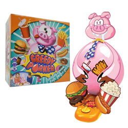 Greedy Porker Spoof Balloon Explosion Pig Greedy Pig Table Game English Teaching Gluttony Toy