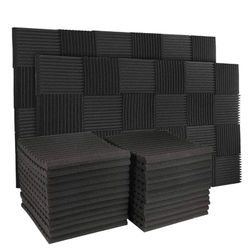50Pcs 12 Slot Fire-Retardant Soundproof Cotton Sound-Absorbing Cotton Egg Cotton Sound-Absorbing Wall Panel