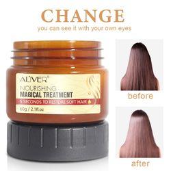 60G Hot Magical keratin Hair Treatment Mask 5 Seconds Repairs Damage Hair Root Hair Tonic Keratin Hair & Scalp Treatment