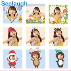 Seelaugh Children Camera Instant Print Camera For Kids HD Camera With Thermal Photo Paper Toys Camera For Birthday Gifts