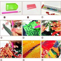 Landscape Snow Diy Painting Cross Stitch Rhinestone Mosaic 5D Full Square Diamond Embroidery Beads Decor Gifts