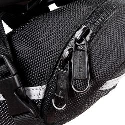 Outdoor Waterproof Bicycle Cycling Mountain Bike Back Seat Nylon Saddle Bag Of Bike Bag For Bicycles Tail Back Pack Bag Black