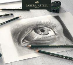 12/16Pcs Professional Wood Sketch Pencil 6H-8B Art Graphite Pencils for Writing Design Charcoal Pencil Artists Drawing Set